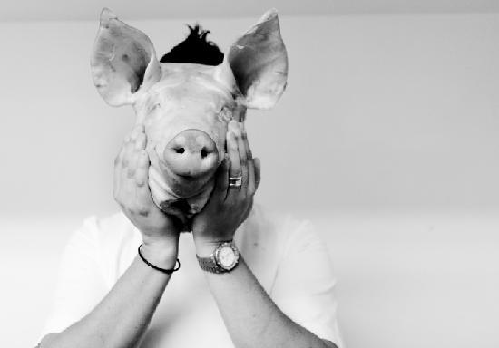 The Pig : Our Head Chef James Golding...