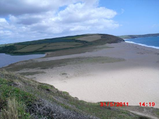 Lizard, UK: Loe Bar near Porthleven
