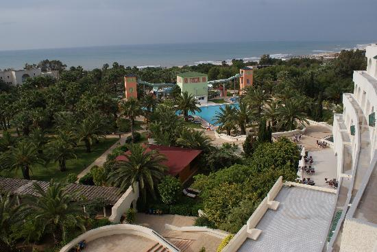 Hotel Manar: View from our room