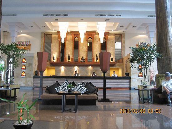 Angkor Miracle Resort & Spa: フロント