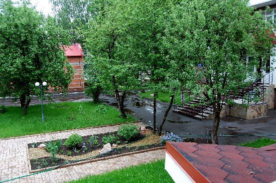 Yoshkar-Ola, Rusia: View from our room