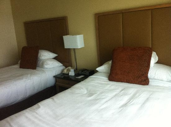 Hyatt Regency Dulles: Comfy beds!