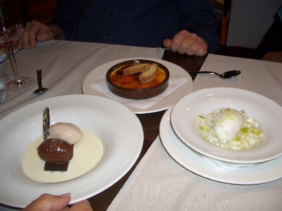 L'Auca Restaurant: deserts