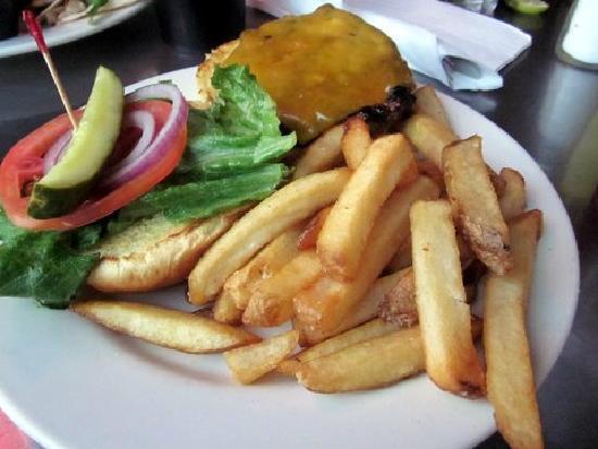 Tilapia Salad - Picture of Brake Pad, College Park - TripAdvisor
