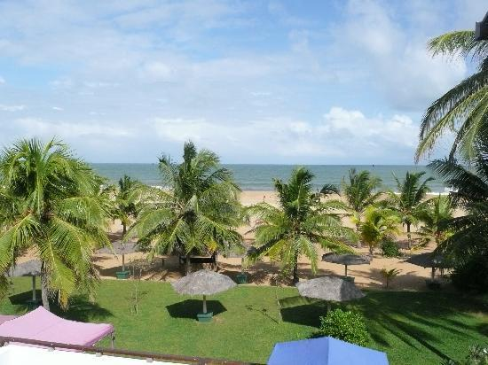 Hotel Goldi Sands: View from the balcony
