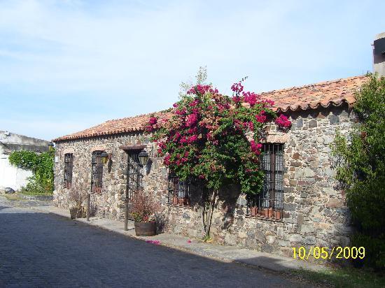 Colonia del Sacramento, Ουρουγουάη: Casas en Barrio Histórico