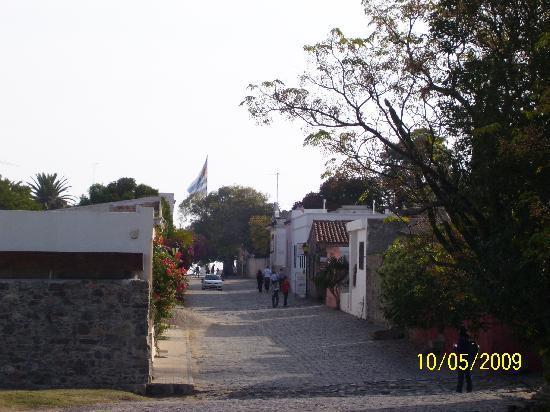 Colonia del Sacramento, Uruguay: Calles de ensueño