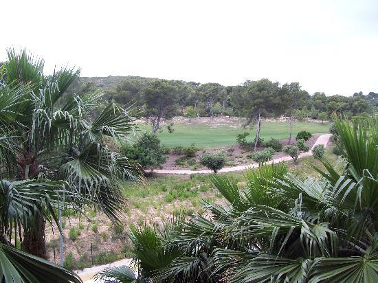 Estival Park Salou: view from balcony