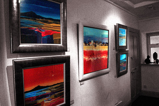 Callander, UK: Galleria Luti - Original Scottish Art