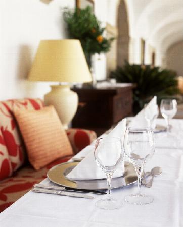Pousada de Palmela Historic Hotel: Restaurant detail