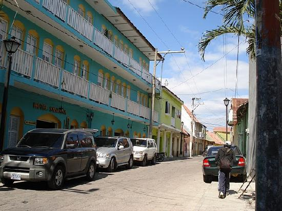 Hotel Santana: fachada