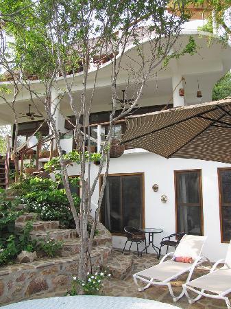 Casa Sol Zipolite: una vista de nuestra habitacion en Casa Sol