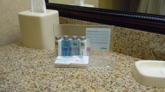 Hampton Inn Sulphur / Lake Charles Area : Bathroom amenities