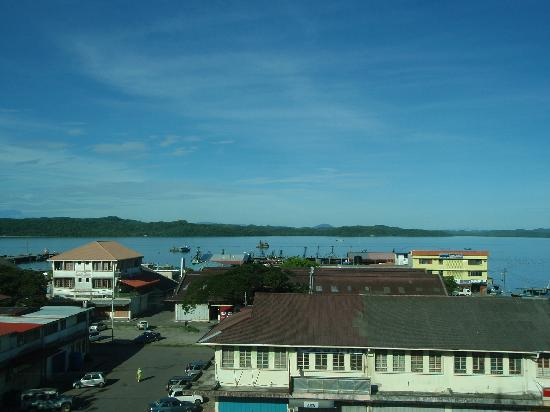 Kudat, Malasia: View from balcony