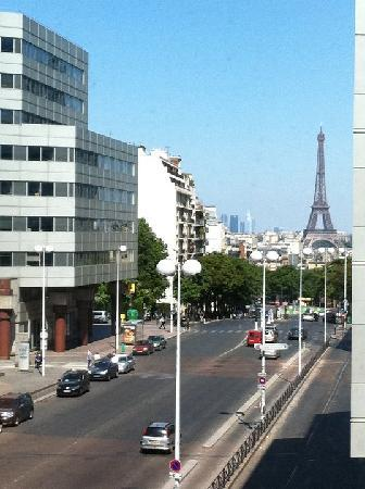 Hotel Concorde Montparnasse: view from our room