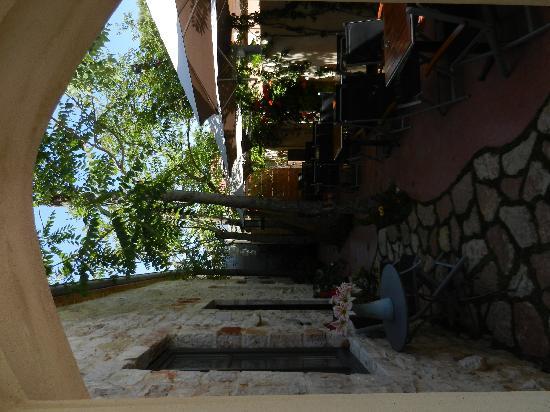 Vathy, Grecja: Kleiner Hof nett zum lesen oder arbeiten