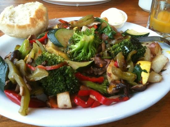 The Coffee House: vegetable hash