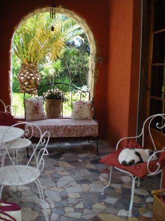 La Magaloun: La veranda