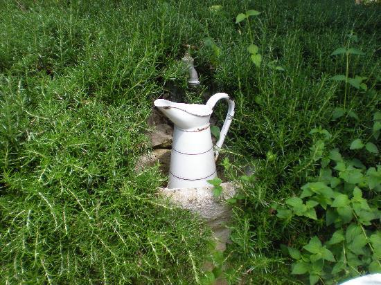 La Magaloun: In giardino