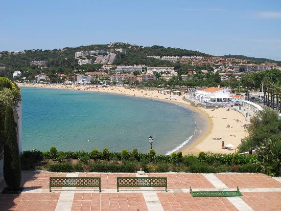 Hostal de La Gavina: Overlooking the beach