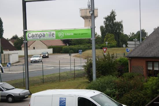 Campanile Rouen Est - Franqueville Saint Pierre : The view