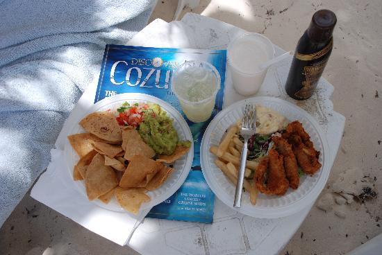 Melia Cozumel Golf - All Inclusive: The Best Fish & Chip
