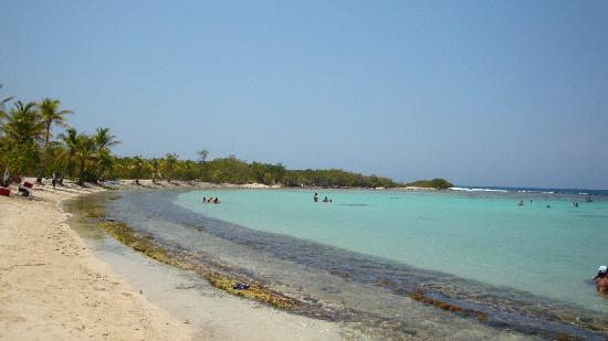 Morrocoy National Park, Venezuela: Cayo Boca Seca, PN Morrocoy, la playa a la q te llevan