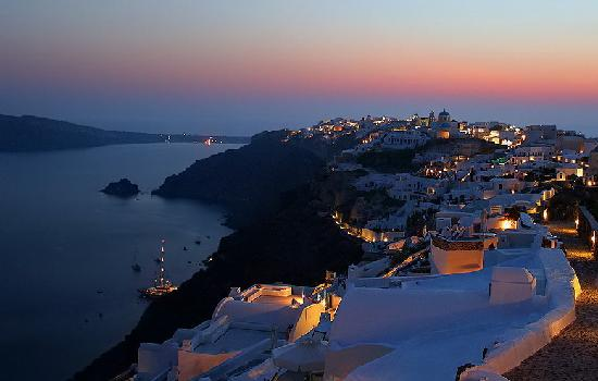Karterádhos, Grekland: Oia, Santorini