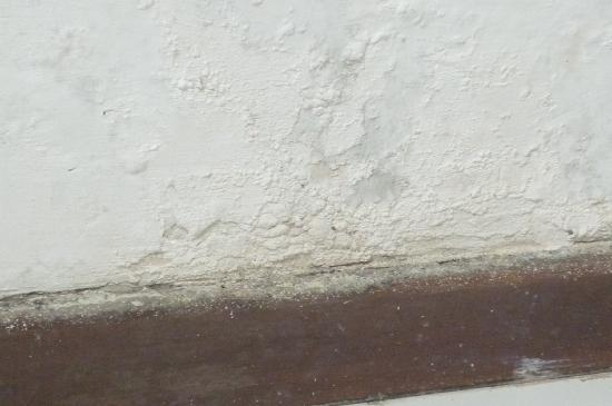 Hotel Portofino: falta pintura