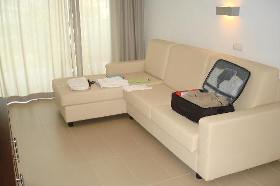Las Gaviotas Suites Hotel : Living suite