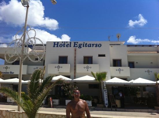 Hotel Egitarso: posizione incantevole