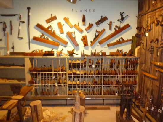 Wilson Museum: Historic woodworking tools