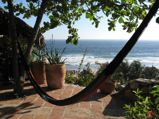 Zipolite, Mexico: Daytime view from Loma Linda