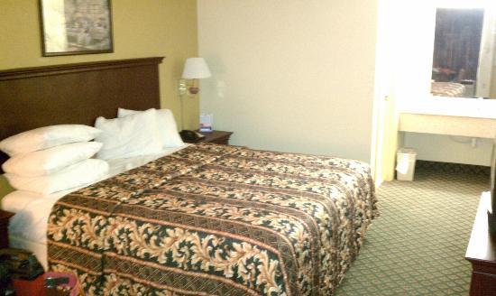 Rodeway Inn & Suites: King bed room