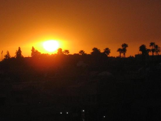 Dar la Cle de la Medina : le coucher de soleil