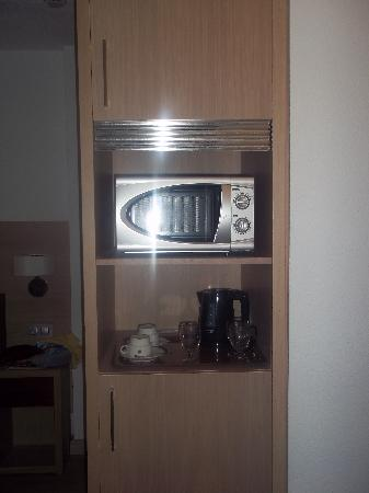 Eden Alcudia: fridge, kettle, microwave