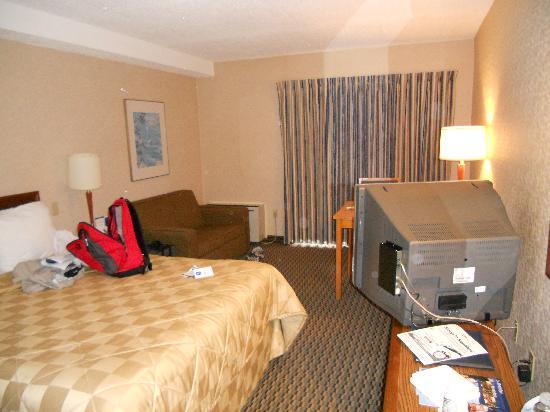 Comfort Inn Boucherville : Room from the door
