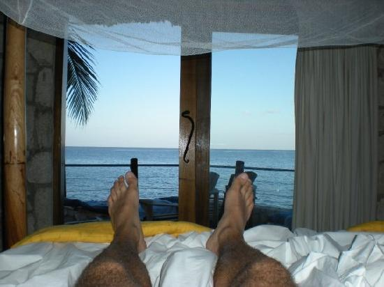 Rockhouse Hotel: The view when you wake up each morning!