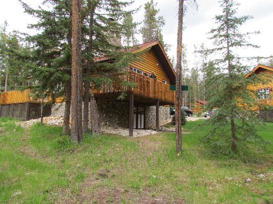 View from apartment 29 picture of alpine village cabin for Decore hotel jasper