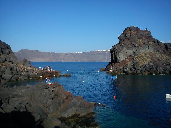 Santorini, Kreikka: Ammoudi bay, near Oia