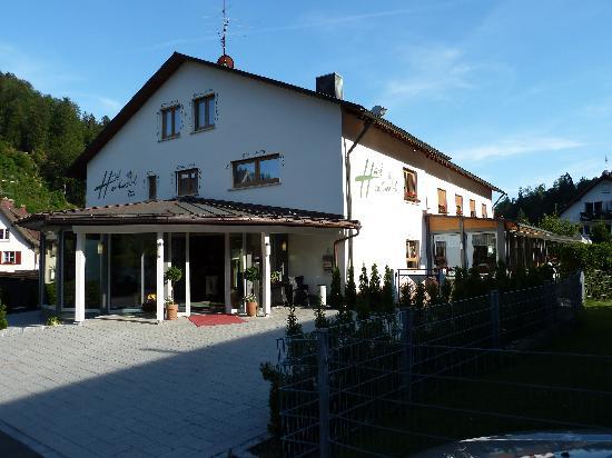 Hotel Am Kurpark: Hoteleingang