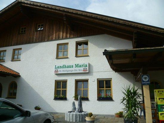 Landhaus Maria: Eingang