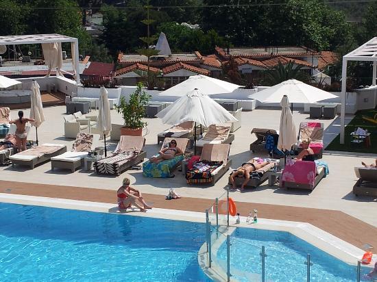 Skiathos Premier Hotel: FROM BALCONY