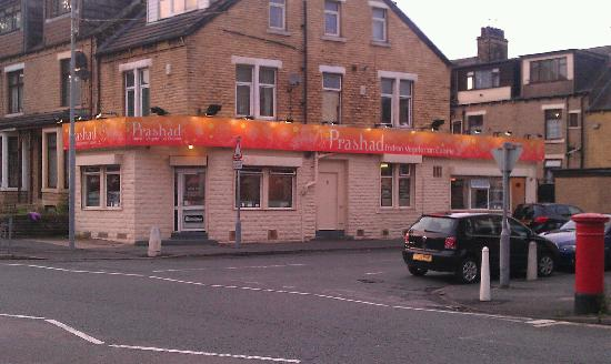 Prashad Indian vegetarian restaurant: In the heart of Bradford's Asian community