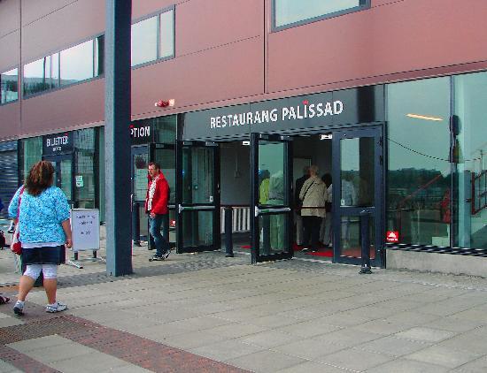 Malmö, Suecia: Ingång via Restaurang Pallisad.