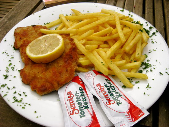 Eichstatt, Germany: Wiener Schnitzel
