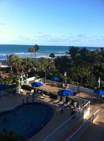 BEST WESTERN Atlantic Beach Resort: view from the balcony