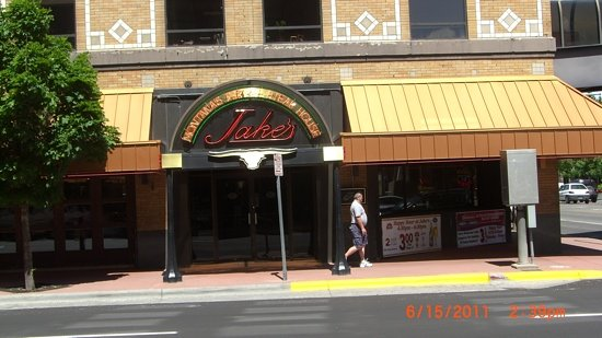 Jake's Restaurant: front, on 1st Avenue and 27th St
