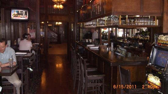 Jake's Restaurant: the main bar