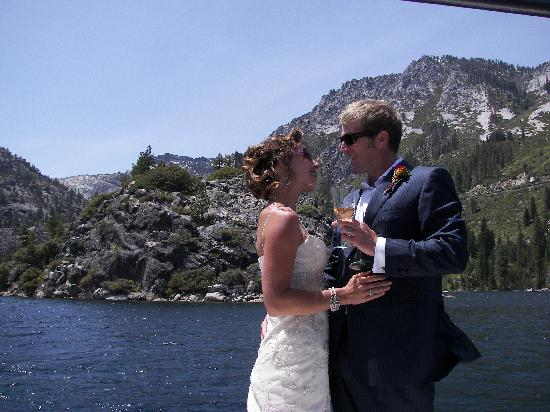 Lake Tahoe Boat Rides: Lake Tahoe Wedding